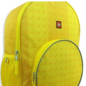 Lego Accessories - New! Classic Yellow LEGO Kids Backpack Reflective